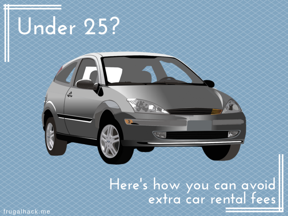 Permalink to Can you rent a car if you're under 25?