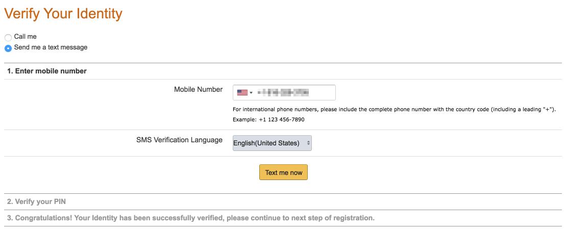 Amazon Step 4