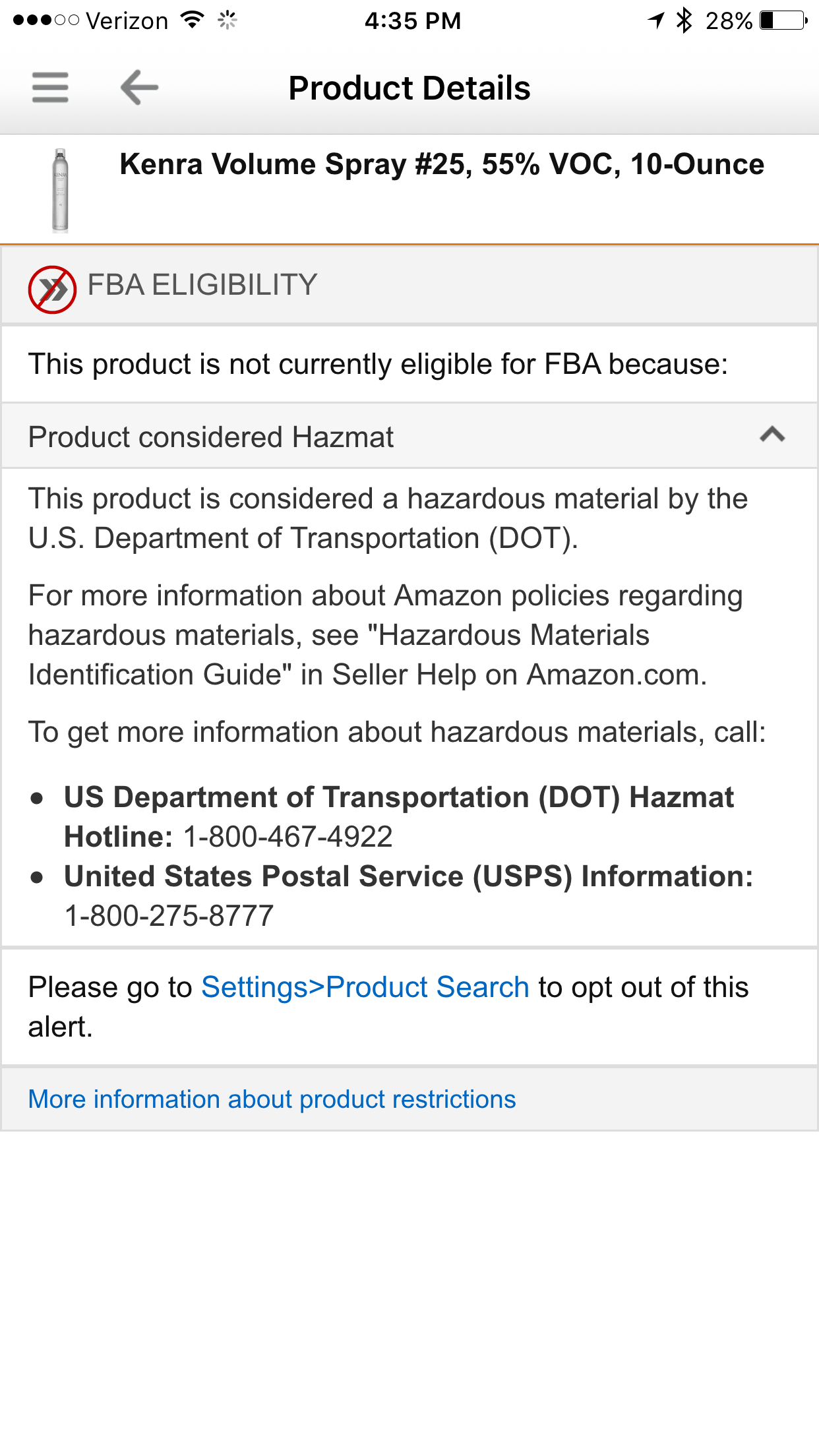 How to Sell on Amazon Hazardous Items