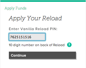Vanilla Reload Pin
