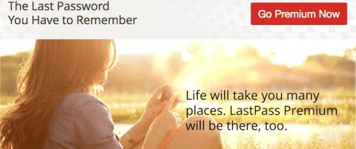 LastPass  Go Premium
