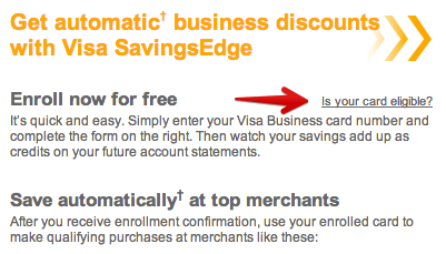 Welcome to Visa SavingsEdge intro