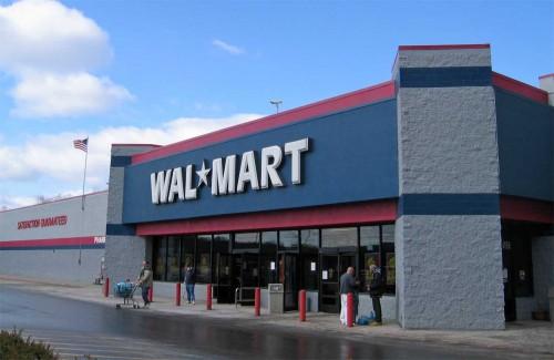 Walmart Exterior Store