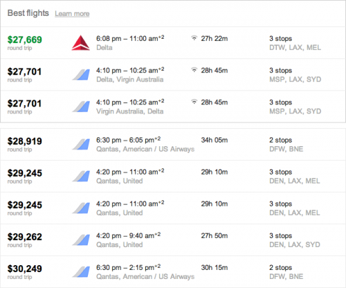 Flights from Grand Rapids to Adelaide - Google Search