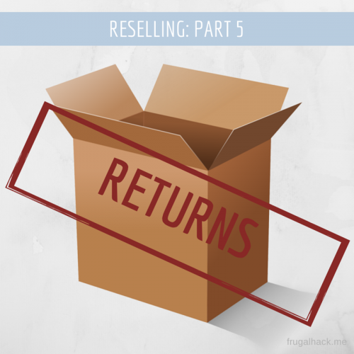 Reselling Returns Amazon