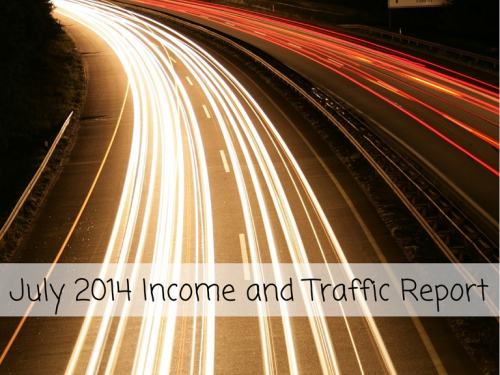 July 2014 Income and Traffic Report