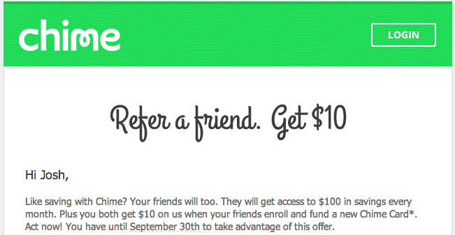 Chime and Fuel Rewards Sign-up Bonuses - frugalhack me