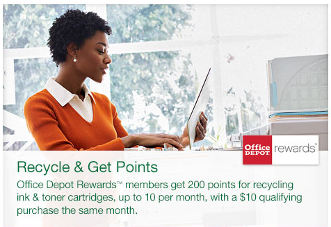 Office Depot Ink Recycling Program