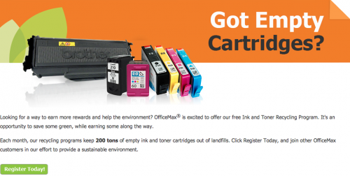 Office Max Ink Cartridge Recycling Program
