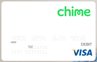 Chime Debit Prepaid Card