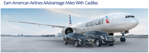 Earn American Airlines AAdvantage Miles With Cadillac