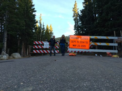 Mount Evans Closed