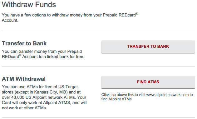 Send Money from Your REDcard to Your Bank - frugalhack me