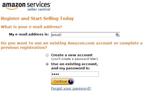 Amazon Seller Sign In