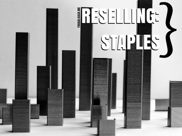 Reselling at Staples