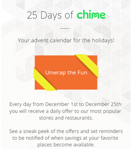 Introducing 25 Days of Chime