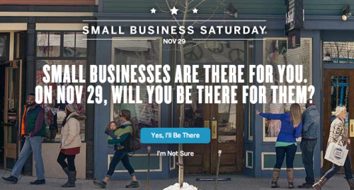 Small Business Saturday by American Express