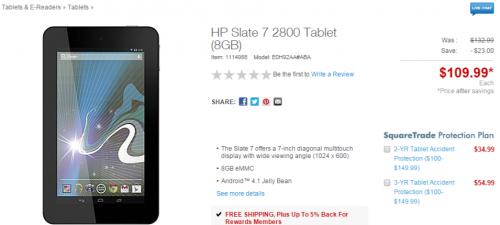 HP Slate 7 New