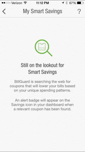 BillGuard Smart Savings