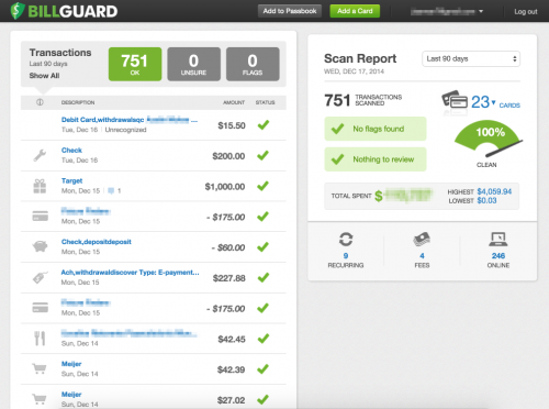 BillGuard Web App