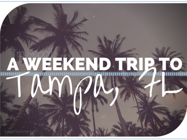 Trip Report Tampa