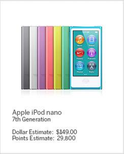 Shop with Membership Rewards® Points iPod Nano