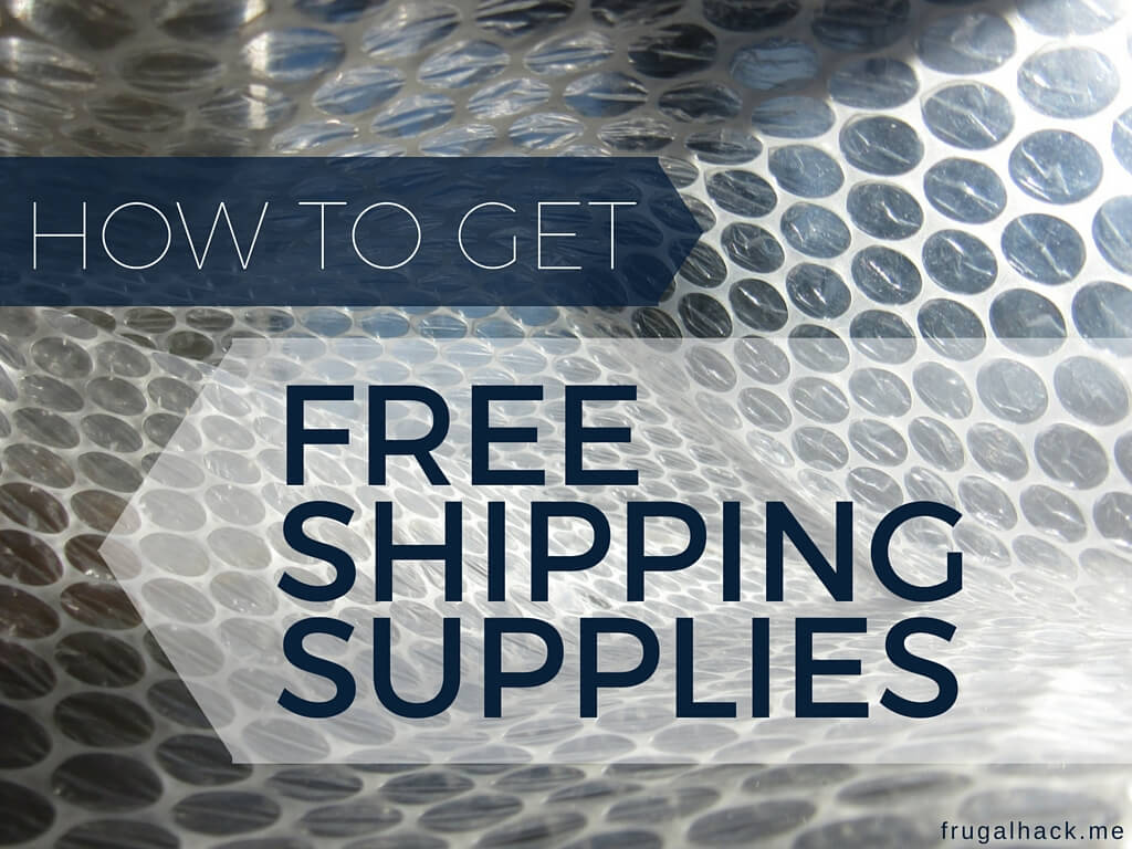 How to Get Free Shipping Supplies From UPS, Fedex, and USPS