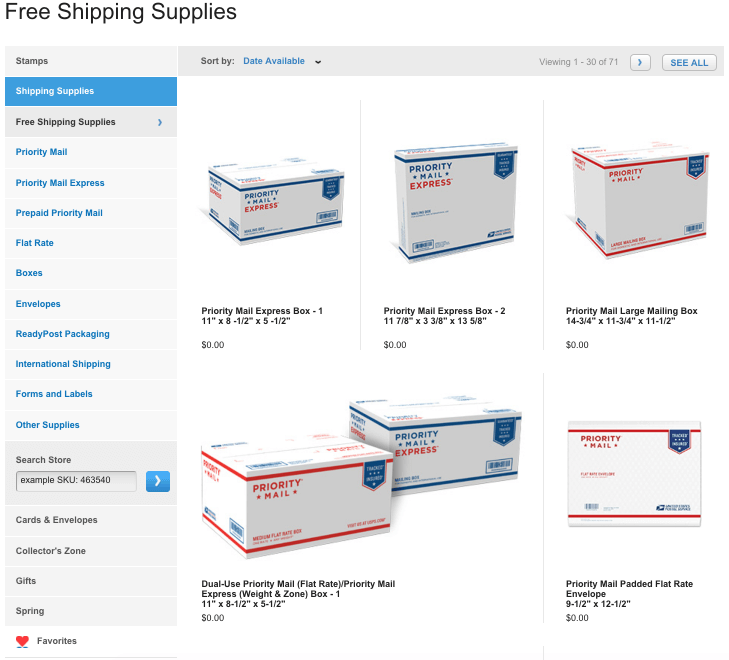 How To Get Free Shipping Supplies From UPS, Fedex, And