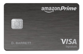 Amazon Prime Rewards Visa Signature Card