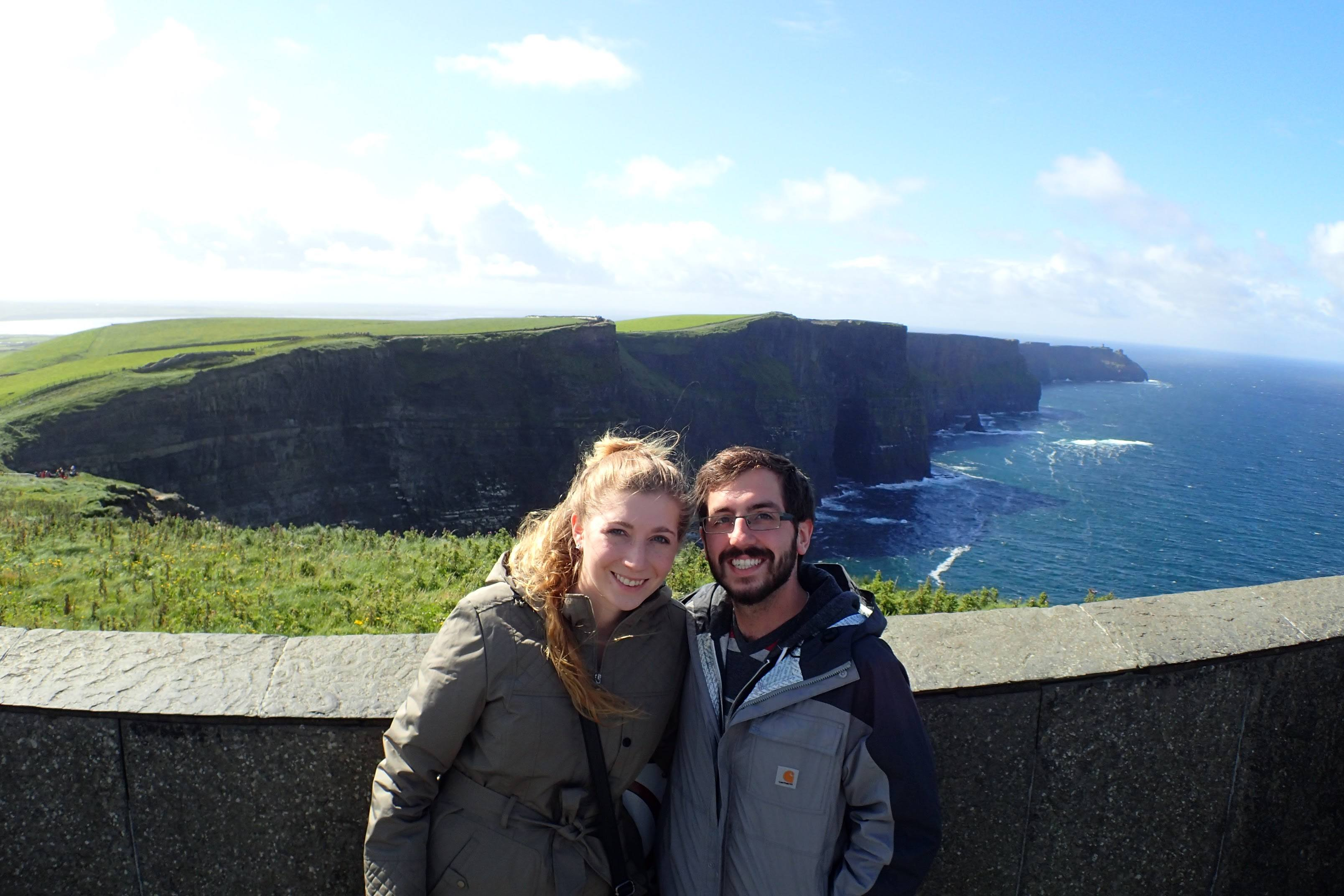 Exploring the Cliffs of Moher in Ireland