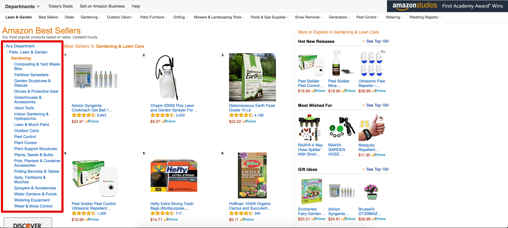 Amazon Best Sellers: Best Gardening & Lawn Care