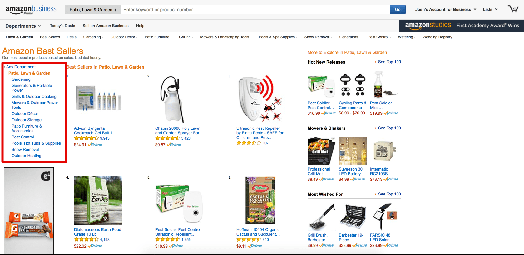 Amazon Patio Best Sellers